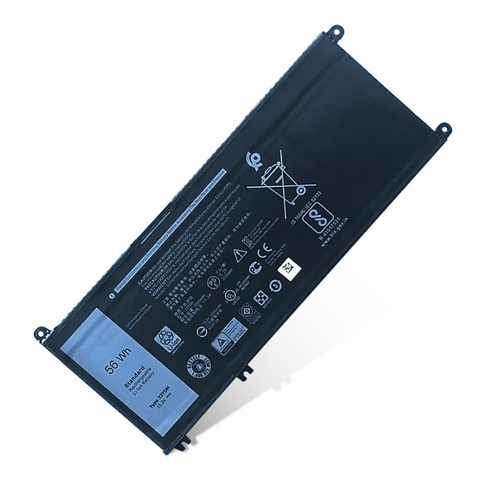 33YDH Baterie do laptopów 56Wh/3500mAh 15.2V