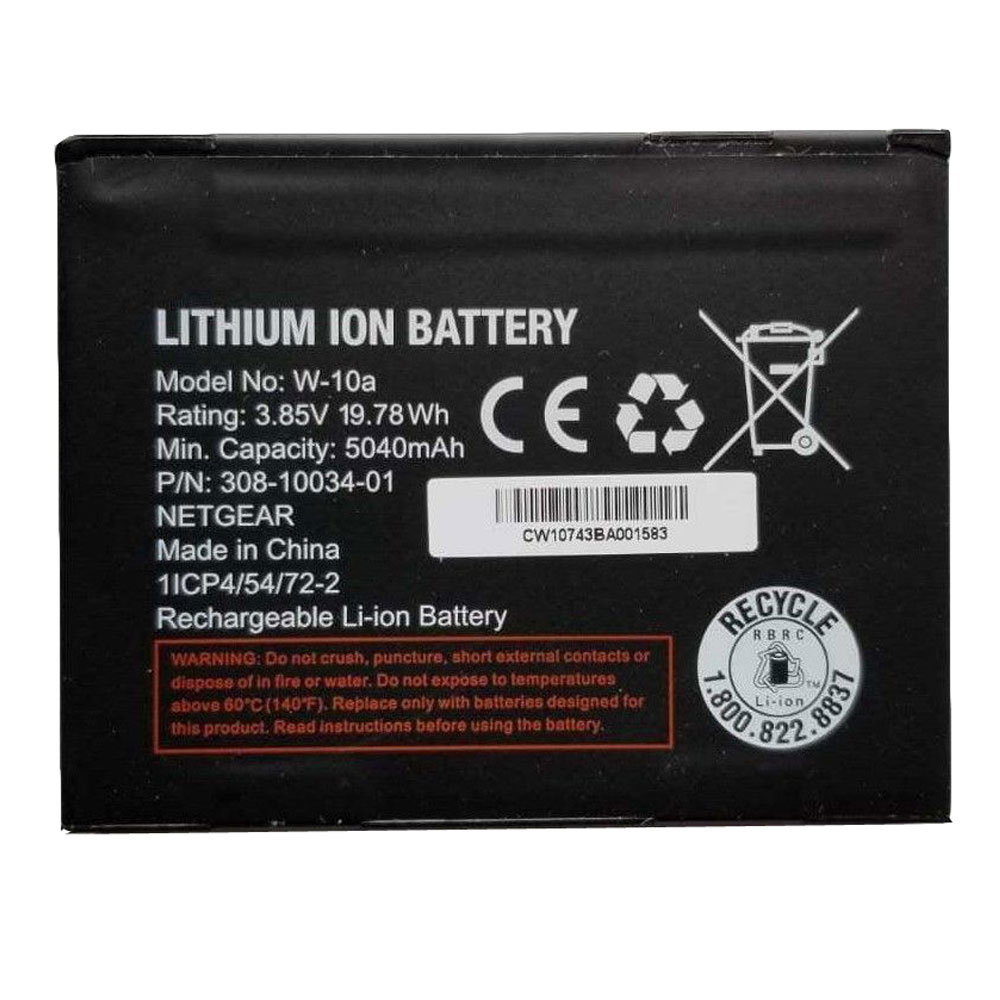 W-10A Baterie do laptopów 5040mAh/19.78WH 3.85V