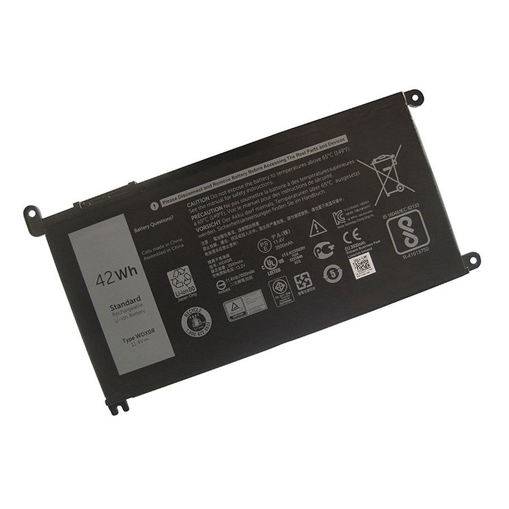 WDXOR Baterie do laptopów 42Wh 11.4v